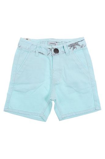 ikks shorts / bermudas garçon de couleur bleu