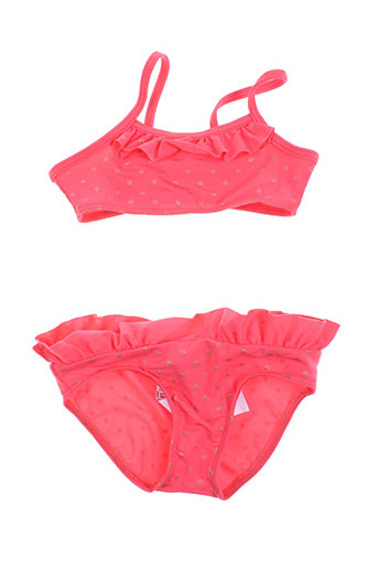 absorba maillots de bain fille de couleur rouge