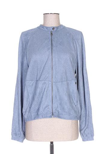 Veste casual bleu GARCIA pour femme