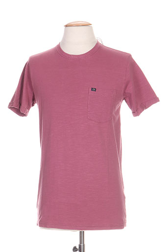 petrol industries t-shirts homme de couleur violet