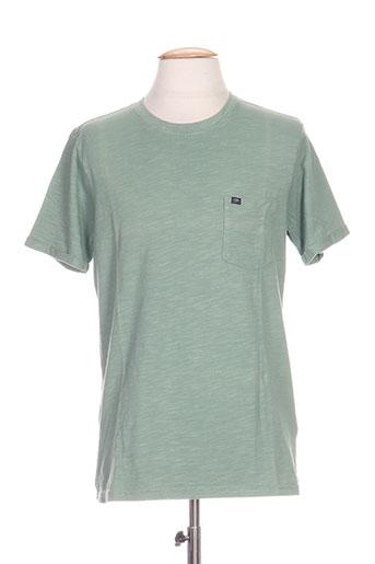 petrol industries t-shirts homme de couleur vert