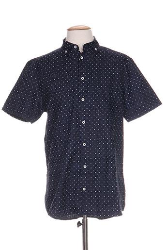 tailored EFFI_CHAR_1 originals chemises homme de couleur bleu