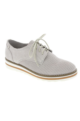 carmela chaussures femme de couleur gris