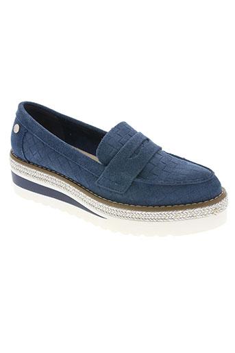 carmela chaussures femme de couleur bleu