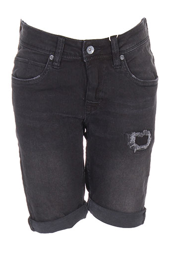 garcia shorts / bermudas garçon de couleur noir