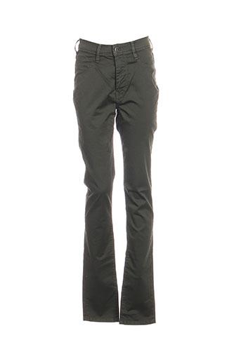 Pantalon casual vert TEDDY SMITH pour fille