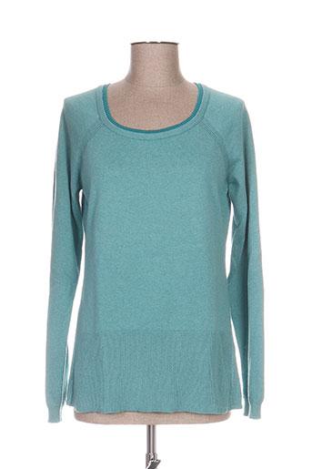 mistral pulls femme de couleur bleu