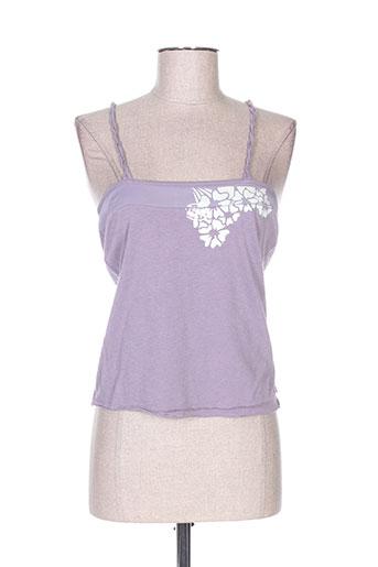 freeman t.porter chemises femme de couleur violet