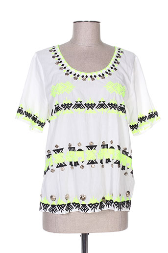 lynn adler chemises femme de couleur blanc