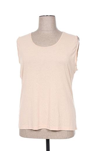 shelley t-shirts femme de couleur beige