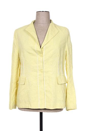 adolfo dominguez vestes femme de couleur jaune