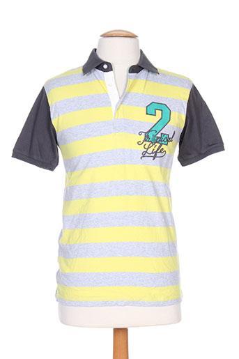 nukutavake t-shirts garçon de couleur jaune
