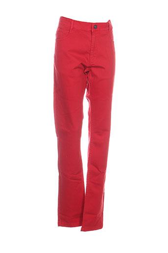 nukutavake pantalons garçon de couleur rouge