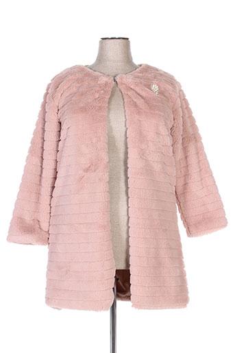 new collection manteaux femme de couleur rose