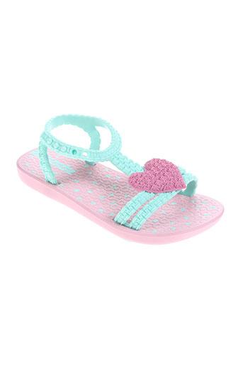 ipanema chaussures fille de couleur rose