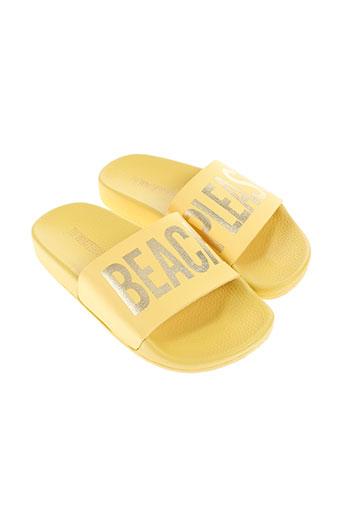 thewhitebrand chaussures fille de couleur jaune