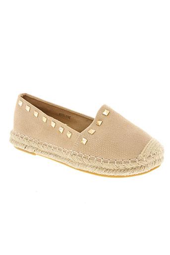 j&j shoes chaussures femme de couleur beige