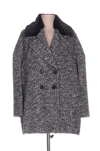 twinset manteaux femme de couleur gris