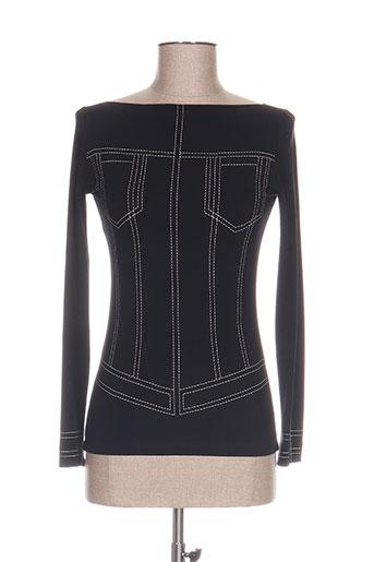 isabel de pedro t-shirts femme de couleur noir