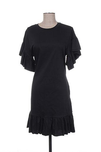 Robe mi-longue noir SCOTCH & SODA pour femme