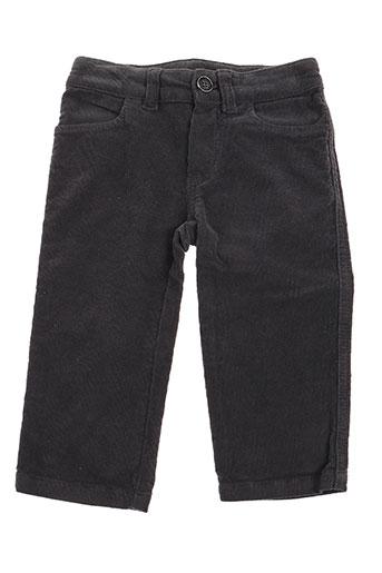 marcel et leon pantalons garçon de couleur gris