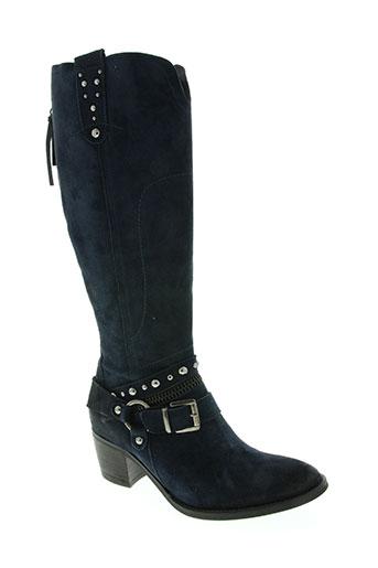 regard chaussures femme de couleur bleu