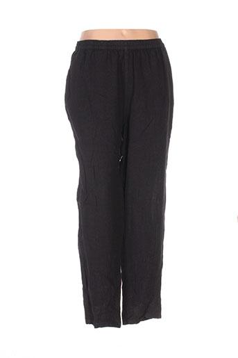 Pantalon casual noir BOHÉME pour femme