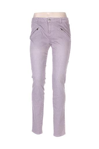 Jeans skinny violet ESPRIT pour femme