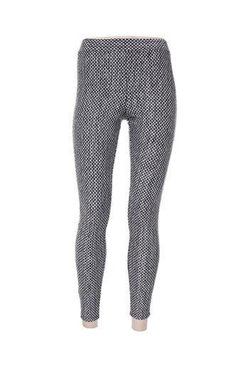 janira pantalons femme de couleur noir