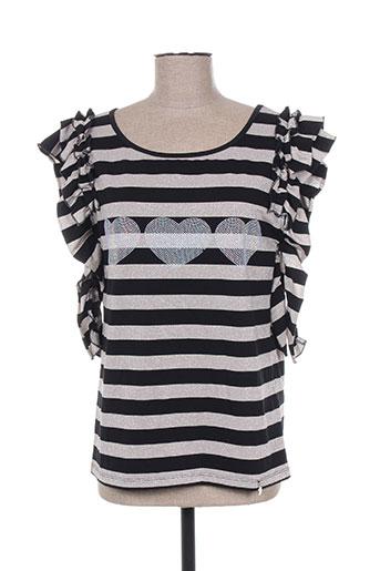 lolitas & lolos t-shirts femme de couleur noir