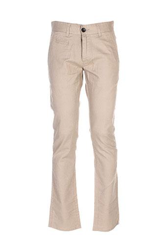 jack EFFI_CHAR_1 jones pantalons homme de couleur beige
