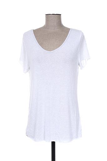 giulia notte pulls femme de couleur blanc