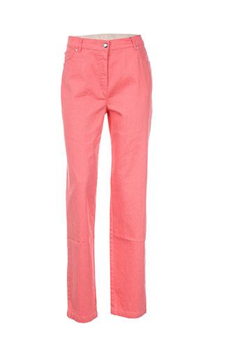 sym pantalons femme de couleur orange
