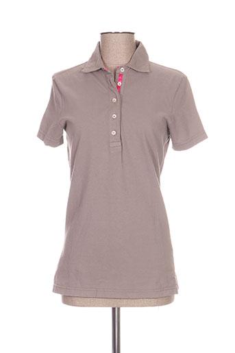 cristiana c t-shirts femme de couleur gris