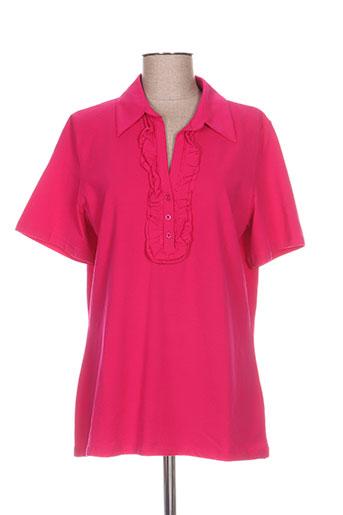 luisa viola t-shirts femme de couleur rose