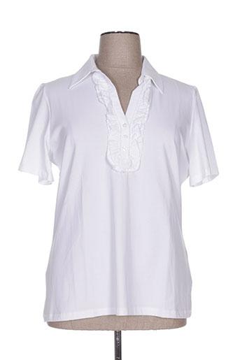 luisa viola t-shirts femme de couleur blanc