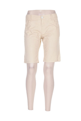 banana moon shorts / bermudas femme de couleur beige