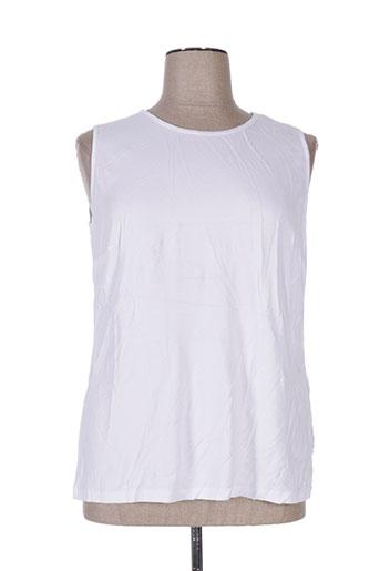 fer t-shirts femme de couleur blanc