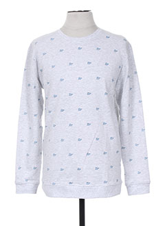 Sweat-shirt gris MINIMUM pour homme