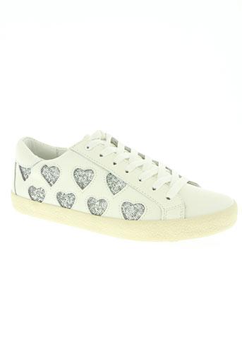 essentiel antwerp chaussures femme de couleur blanc