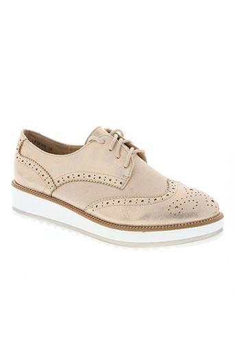 la bottine souriante chaussures femme de couleur rose