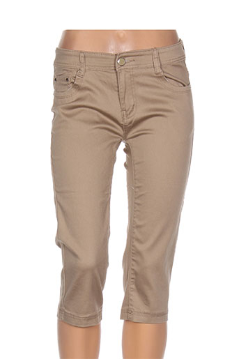 bs jeans shorts / bermudas femme de couleur beige
