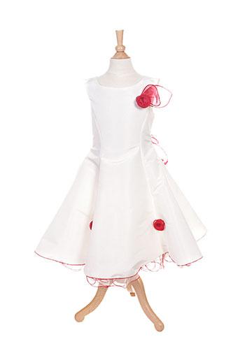 passanela robes fille de couleur beige