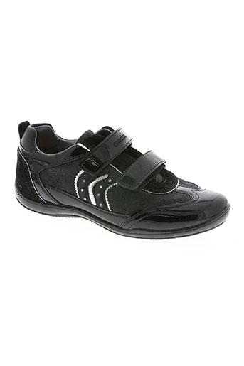 geox chaussures fille de couleur noir