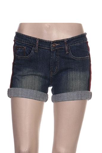 rosa EFFI_CHAR_1 rose shorts / bermudas femme de couleur bleu