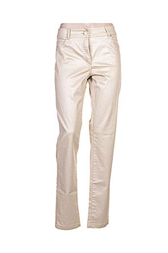 paul brial jeans femme de couleur beige