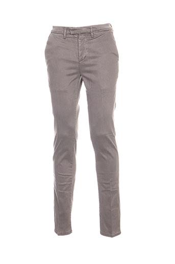 haikure pantalons homme de couleur gris