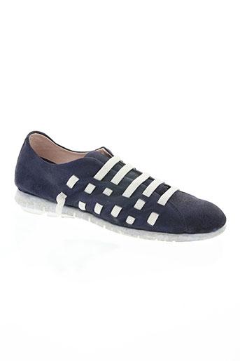 on zen chaussures femme de couleur bleu