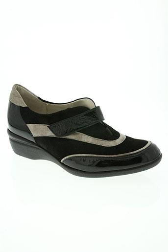 hasley chaussures femme de couleur noir