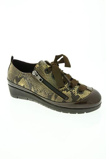jose saenz chaussures femme de couleur marron